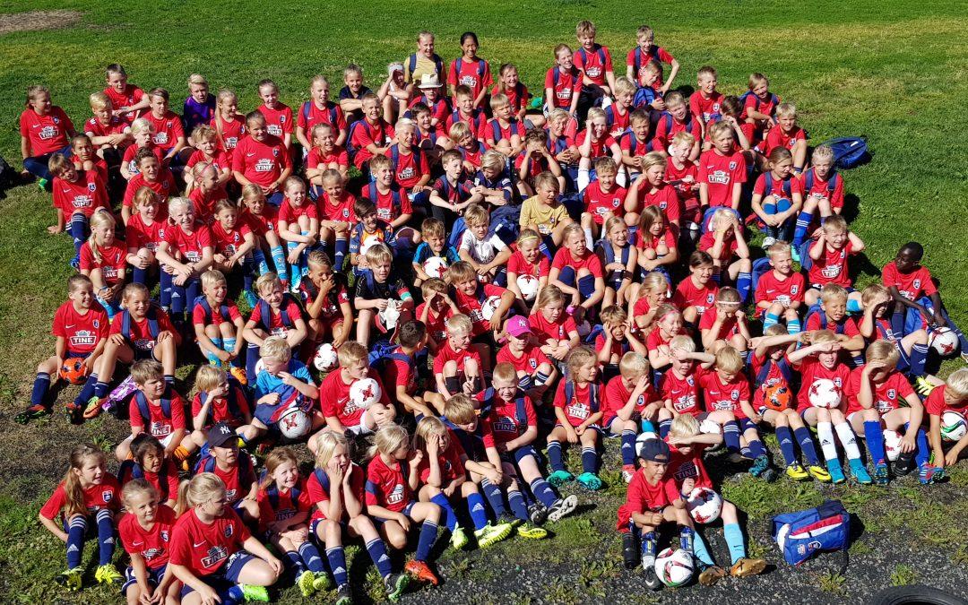 Instruktører til TINE Fotballskole 2019