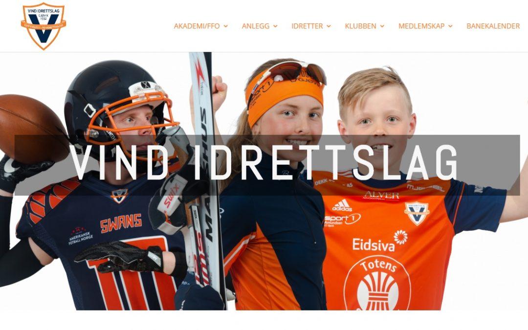 Ny hjemmeside Vindil.no