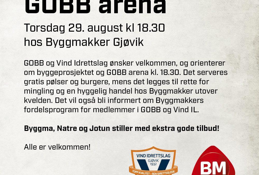 Vi inviterer til en hyggelig aften på Byggmakker Gjøvik!
