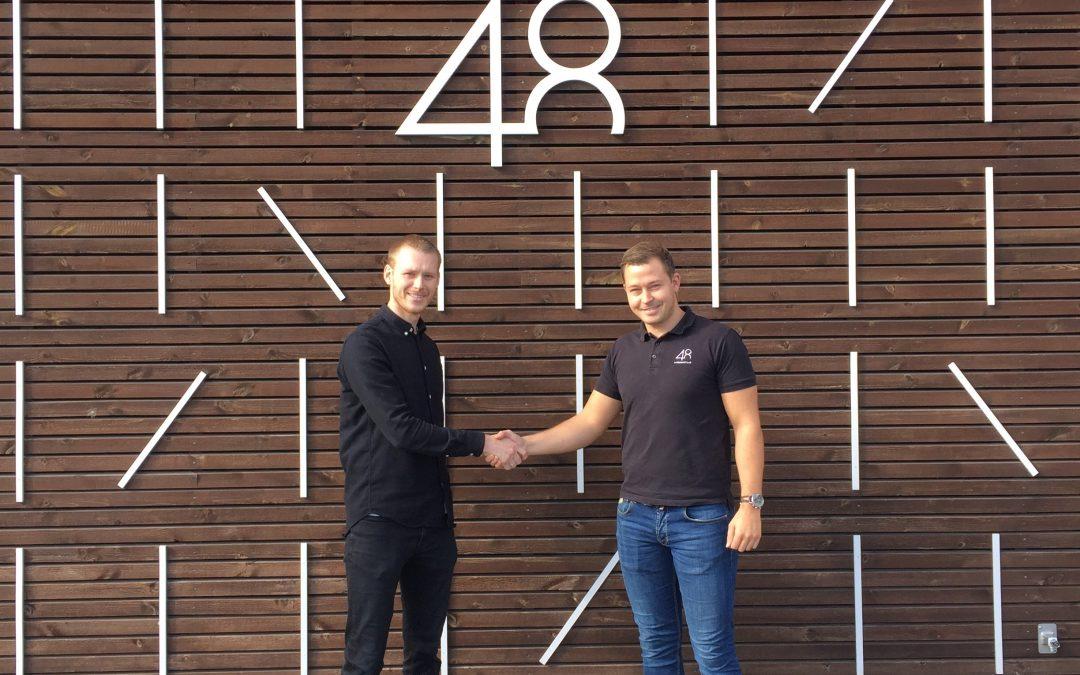 Interiørhuset 4×48 blir en av våre lokale støttespillere!