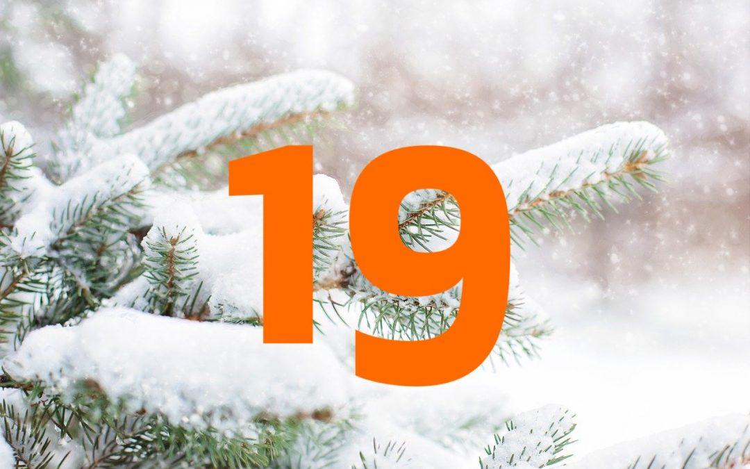 Vind Julekalender – Trekning 19. desember