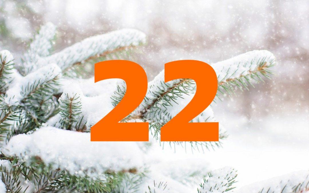Vind Julekalender – Trekning 22. desember