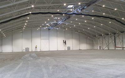 GOBB arena – Fremdrift