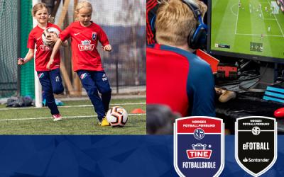 Påmelding åpen for Tine Fotballskole 2020!