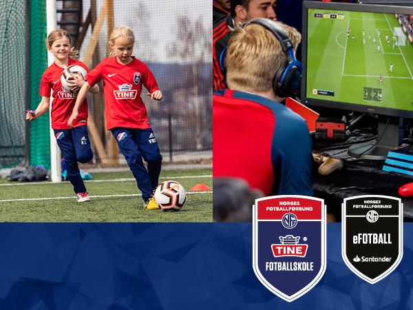 Påmelding til TINE Fotballskole og e-Fotballskole 2020!
