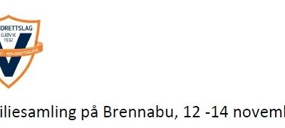 Familiesamling Brennabu 12-14. November
